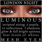 Mayfly - Luminous - Mesh Eyes (London Night)
