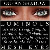 Mayfly - Luminous - Mesh Eyes (Ocean Shadow)