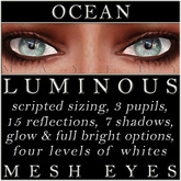 Mayfly - Luminous - Mesh Eyes (Ocean)