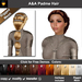 A&A Padme Hair Moonlight FUNCTIONAL DEMO. Rigged mesh long womens hairstyle