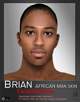 Second Life Marketplace Tuty S Brian Caramel Skin Fat Pack Slink Hands And Feet Appliers