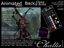 (Challis) Animated Body Claws / Arms (MC)(BOXED)