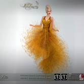 .:FlowerDreams:.Xia- gold applier gown