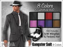 [Phunk] Gangster Suit Set (8 Colors)