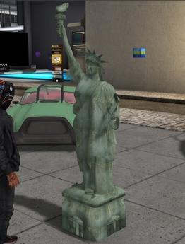 Liberty Statue mesh