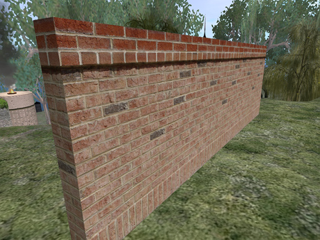 Second Life Marketplace Tan And Red Brick Wall Formal Brick