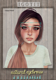 IGOTIT - Natural Eyebrows (Orginals)