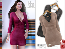 Bens Boutique - Idil Mini Suede Dress