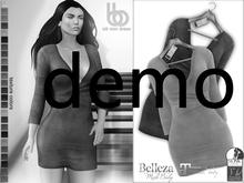 Bens Boutique - Idil Mini Suede Dress Demo