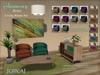 """[CIRCA] Pkg - """"Harmony"""" - Retro Living Room Set"""