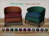 "[CIRCA] Pkg - ""Harmony"" - Retro Chair Set of 2"