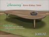 "[CIRCA] Pkg - ""Harmony"" - Retro Kidney Table"