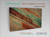 "[CIRCA] - ""Harmony"" - Retro Edgeline Artwork - Brown-Red"