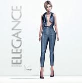 "Elegance Boutique -Pants ""Vanessa"" - Beige"