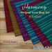 "[CIRCA] - ""Harmony"" - Striped Area Rug Set in Colours"