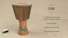 Thunk! Gecko Djembe Box
