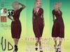 {JD} Retro Plaid Dress