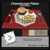 F&B Cheeseburger Meal