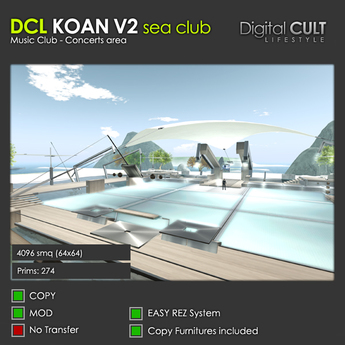 DCL KOAN Sea Club V2