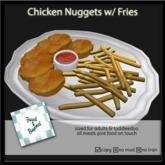 F&B Chicken Nuggets Platter