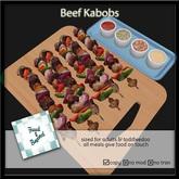 F&B Beef & Veggie Kabobs Platter