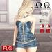 :: FLG Danny Dress - HUD 10 Models ::