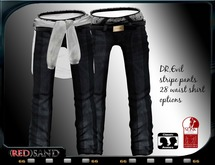 (red)sand DR,evil pants stripe