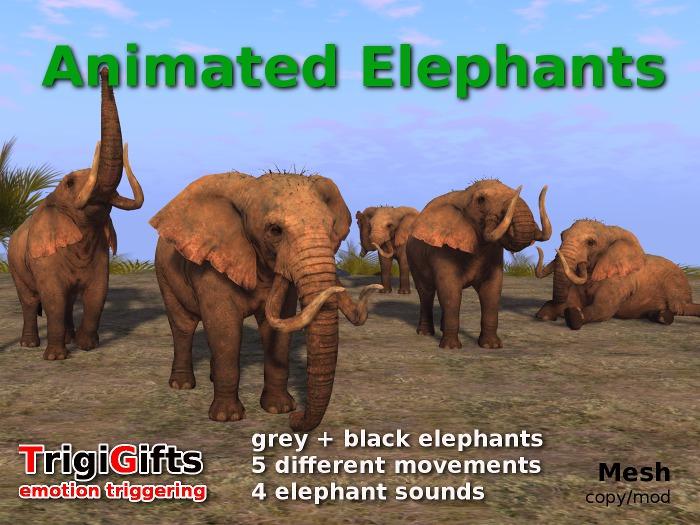 Animated Elephants