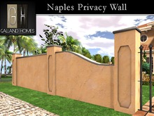 Naples Privacy Wall System by Galland Homes