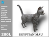 [TomatoPark] Egyptian Mau Cat Mesh 2.0