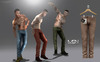 [MSN Design] Waco Pants [BROWN]