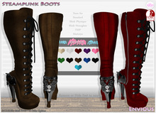::Envious:: Steampunk Boots