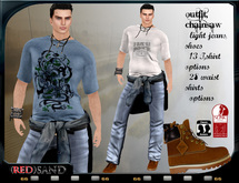 (red)sand_ Outfit  ChainSaw