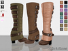 C&S Ona's Boots 16 Colors HUD (Rigged for Maitreya, Physique, Hourglass, #TMP and Classic)