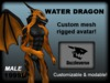 Dragon Avatar Water Dragon - Orange