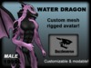 Water Dragon - Pink 1.1