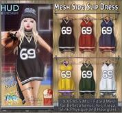 NS::  MesH Side Split Dress (HUD)