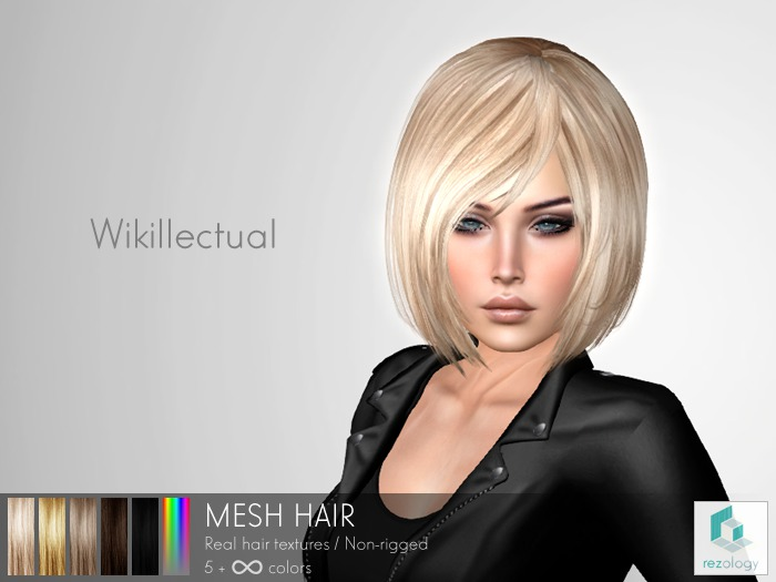 rezology Wikillectual (mesh hair) Gift - 624 complexity