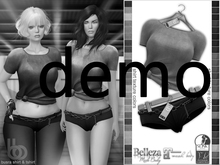 Bens Boutique - Busra Mini Short & Tshirt Demo