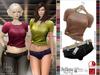 Bens Boutique - Busra Mini Short & Tshirt New