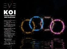 KOI Square Confetti Ring Color Pack