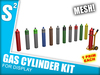 S2 Gas Cylinder Kit - UNSCRIPTED