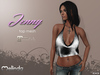 MELINDA*JENNY TOP  FITTED MESH