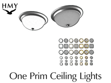 FULL PERM - One Prim Ceiling Lights