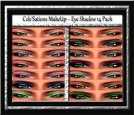 Cele'Sations Make-Up Eye Shadow Collection 14 Pk