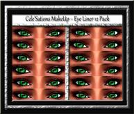 Cele'Sations Make-Up Eye Liner 12 Pk