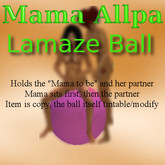 Gymnastic Ball for Lamaze