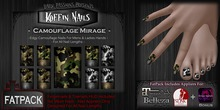 DP - Koffin Nails - FatPack - Camouflage Mirage (Boxed)