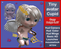 TINY ANGEL CUPIDON * AVATAR MESH*