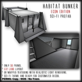 Habitat Bunker: Econ Edition Package